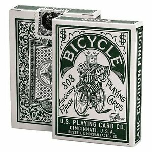 Bicycle-Autobike-Green-Playing-cards-Deck