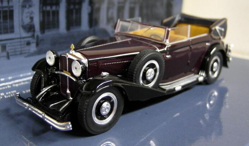 Minichamps 1 43 scale 436 039400 maybach zeppelin marron diecast voiture modèle