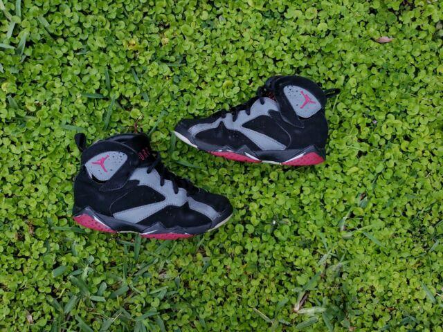 e15a88dd611 Nike Air Jordan VII 7 Retro 30th GG GS Valentines Day Grey Fuchsia XI SZ 12