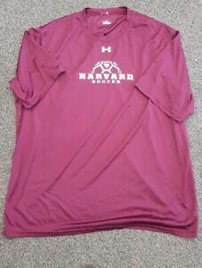 best cheap 2d219 c1564 Details about Harvard Soccer Shirt Jersey Kit Under Armour Ivy League  Football USA 🇺🇸