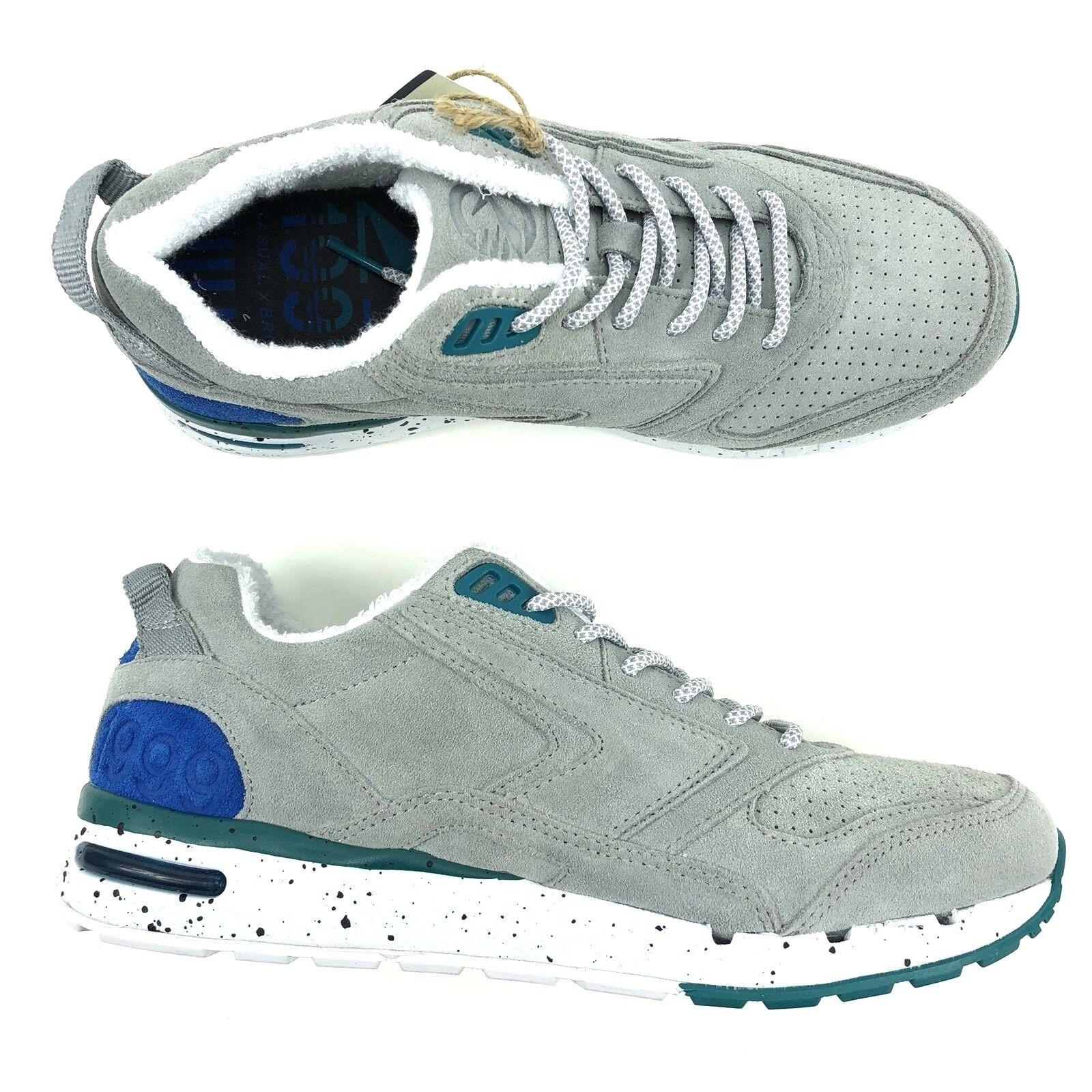 Brooks 1999 Fly Casual fusión gris Zapatos Para Correr Hombres Cuero De Gamuza