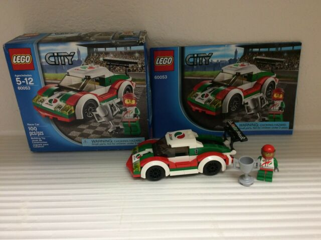 LEGO City 60053 100/% Complete Retired Race Car Boxed with instructions