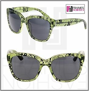 a657995a557c Image is loading Dolce-amp-Gabbana-4226-CHANTILLY-LACE-Green-Black-
