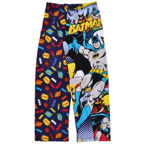 Parent-child Mens Licensed DC Comics Batman Lounge Sleep Pajama Pants NIP S-XL q