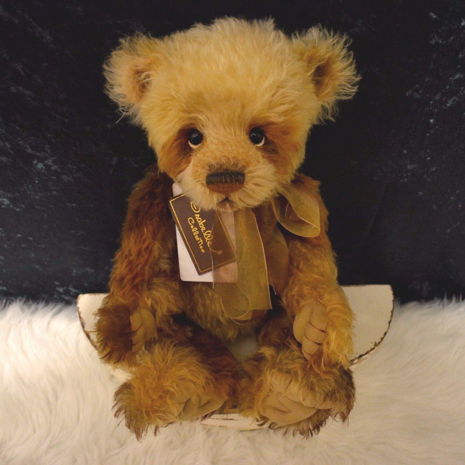 Charlie Bear Mohair Isabelle Masterpiece Retirosso 2012