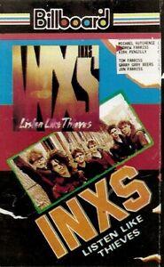INXS .. Listen Like Thieves..Import Cassette Tape
