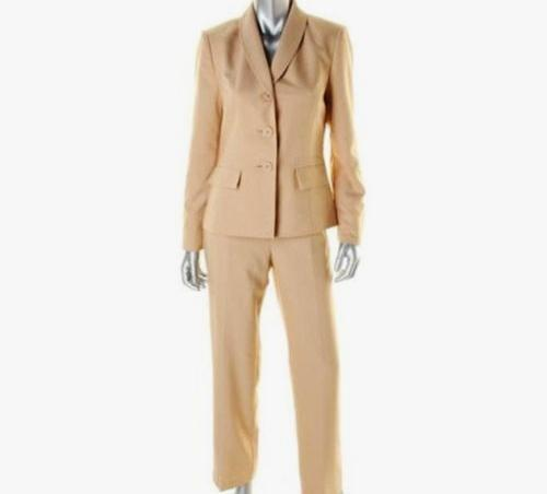 Giardino Tan 6 Pc Designer Pant Flat 2 Boboli Front Nwt Suit Le Sz 220 qcW6Z1