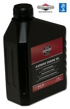 saverschoice - GENUINE Briggs & Stratton SAE30 Mower OIL-100006E 4016153100067#V