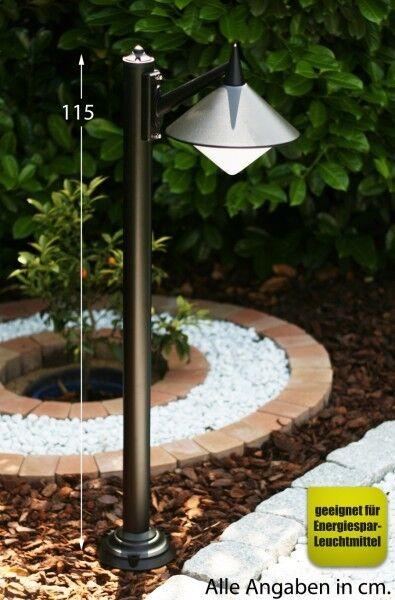 Lampadaire Lampadaire Lampadaire Borne d'éclairage Balise Éclairage de jardin Luminaire extérieur 686 a1f305