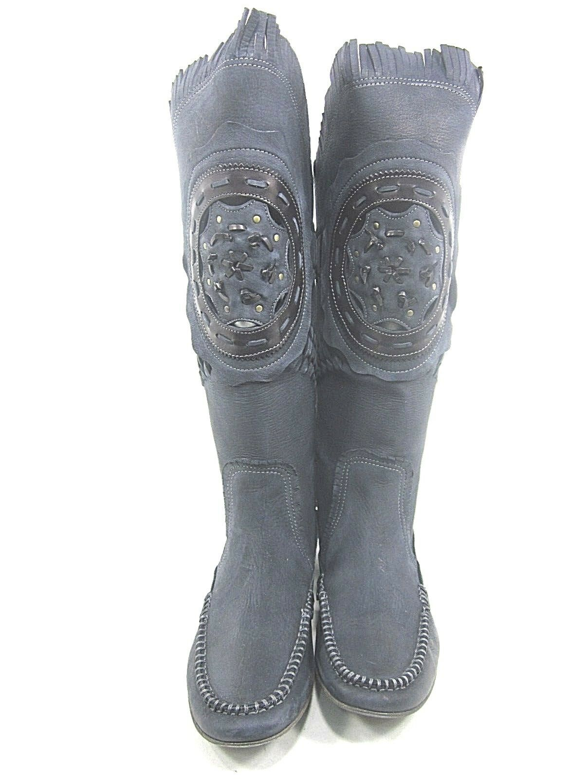 AREA AREA AREA FORTE, AD1297 BOOT, WOMEN'S, black, EURO 39 M, LEATHER, NEW  DISPLAY 02b8c7