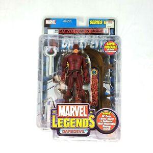 DAREDEVIL Marvel Legends Series III 3 Action Figure New Toy Biz 2002