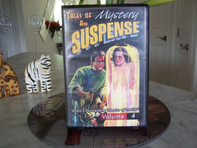 America Before TV Tales Of Mystery & Suspense Volume 4 (4 cassettes)