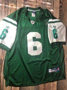 Details about NY Jets Reebok NFL Jersey size 56 Mark Sanchez #6