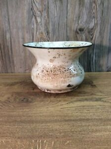 Antique-Enameled-Porcelain-Spittoon-Cuspidor-From-Local-Bank-History-K52D