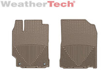 Weathertech All Weather Floor Mats For Toyota Camry 2012 2017 1st Row Tan Fits 2012 Toyota Camry