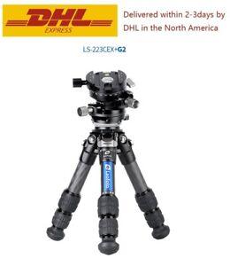 Leofoto Ranger LS-223CEX+G2 Leveling Professional tripod Camera with Ball Head