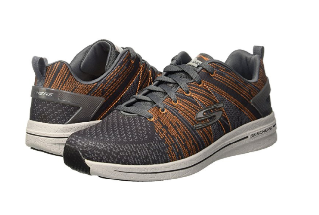 SKECHERS 52615 CCOR BURST IN THE MIX 2 Mn's (M) Charcoal Synthetic Athletic sautope Sautope classeiche da uomo
