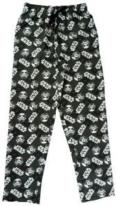 Hommes-Salon-Pyjama-Pantalon-Star-Wars-Dark-Vador-long-PJ-Bottoms-S-a-XL
