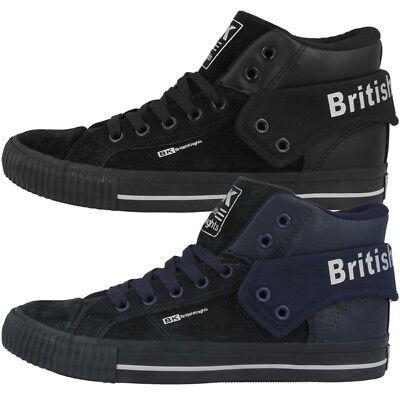 British Knights Roco Bk Scarpe Women Donna High Top Sneaker Mid Stivali B42-3707-mostra Il Titolo Originale Costruzione Robusta