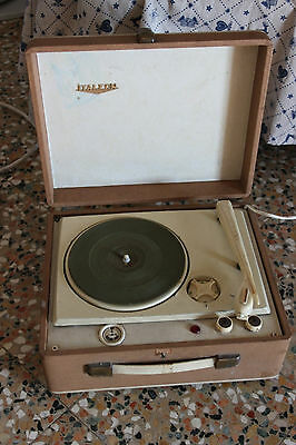 Dj Equipment Da Ripristinare Relieving Rheumatism Practical Fonovaligia Italfon Dischi Vintage Da Collezione Other Dj Equipment