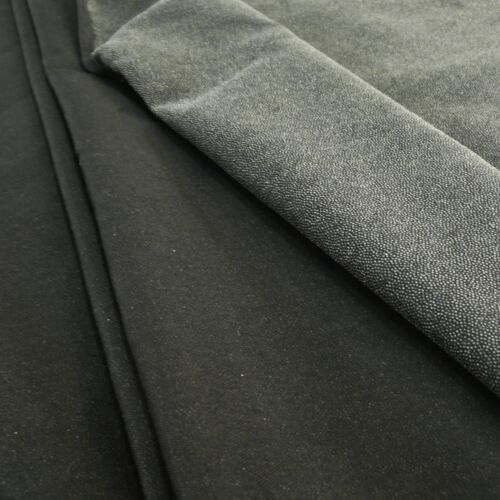 Black Lightweight Woven Cotton Fusible Iron On Interfacing per metre or 50cm