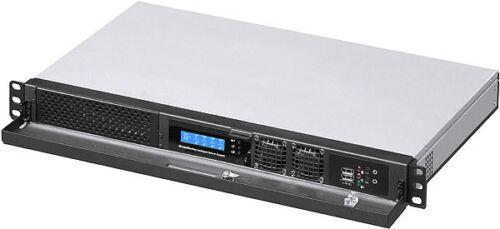 "D9.84/"" Case 5.25/""//3.5/""HD // 2x2.5/"" HDD Rackmount Chassis NEW 1U ITX Fan-LCD"