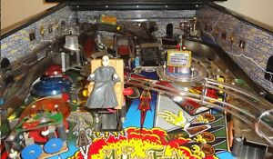 Addams Family Pinball Inner Cabinet Decal Set Mod