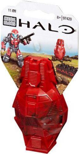 Red UNSC Mega Bloks Halo Metallic ODST Drop Pod Set #97420