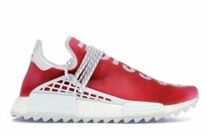 Details about adidas Pharrell NMD HU China Pack Passion (Red) White Size 9.5. F99761 yeezy