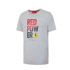 SincèRe Ferrari Formula One Team Red Power T-shirt Graphique 3 Couleur Homme S-xxl-afficher Le Titre D'origine Emballage Fort