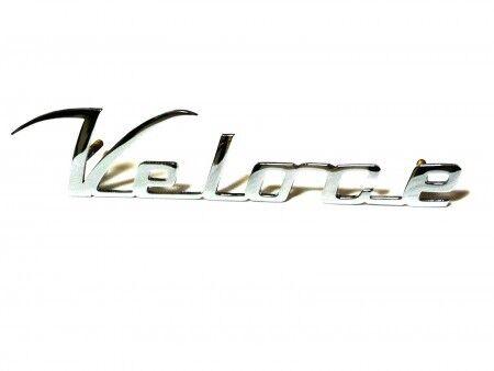 Fregio scritta sigla ALFA ROMEO GIULIETTA VELOCE 145mm badge sign emblem escudo
