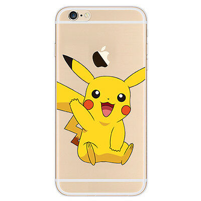 Pikachu Collection of iPhone Cases - Cute Cartoon Soft Gel Pokemon Case Cover