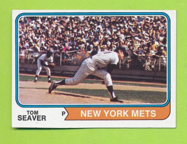 1974 Topps - Tom Seaver (#80)  New York Mets