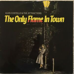 Elvis Costello The Only Flame In Town 12 Uk Single Vinyl Nm Ebay