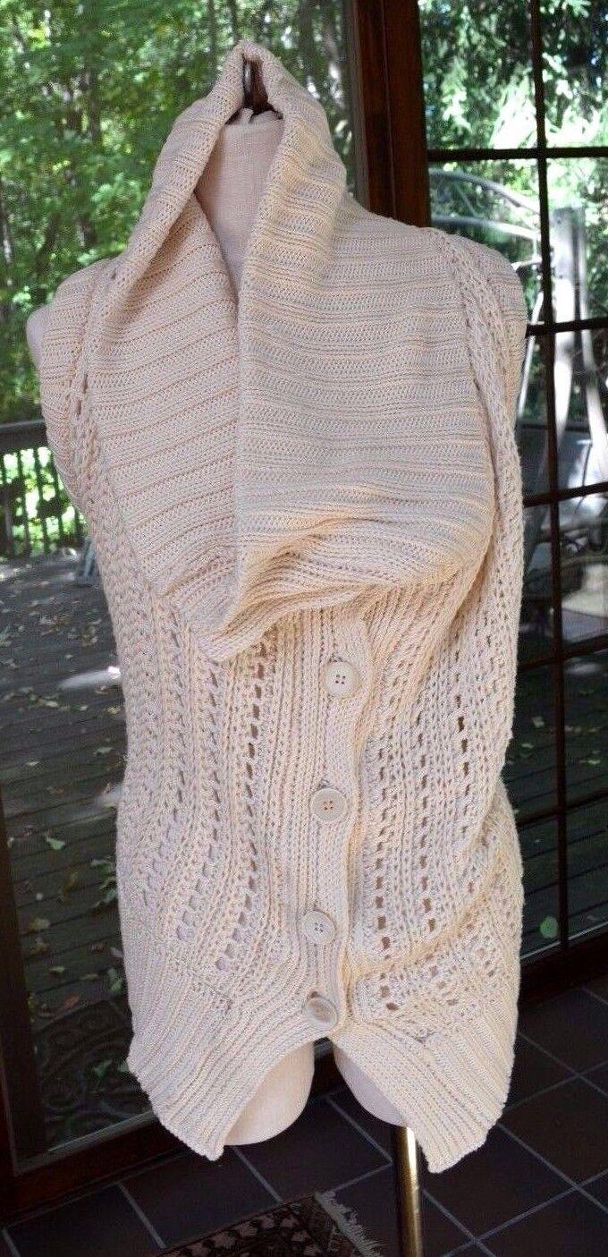 Ann Demeulemeester  sleeveless sweater sweater sweater silk\cotton   1232 04dd6c