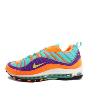 d2b5f897c17d Nike Air Max 98 QS  924462-800  Men Casual Shoes Cone Tour Yellow