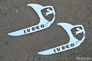 To-Fit-Iveco-Stralis-Truck-Stainless-Steel-Door-Handle-Trim-Cover
