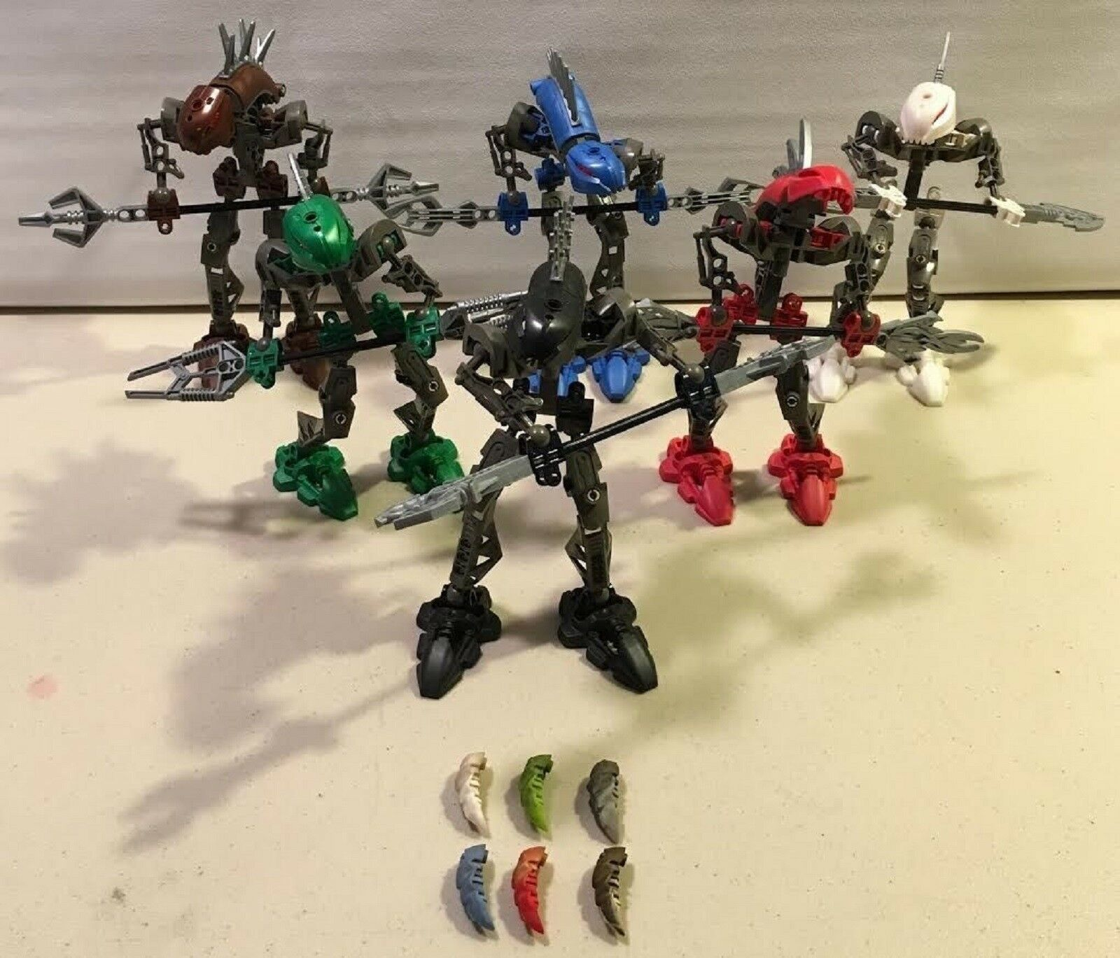 Lego Lego Lego 8587 8588 8589 8590 8591 8592 Bionicle Mata Nui  6 Notices complet CNG5 8f2198