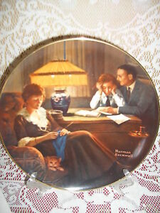 Father-039-s-Help-Rockwell-Light-Campaign-Knowles-series-3-Collector-Plate