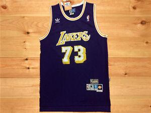 f212e09be ... Image is loading Hot-Los-Angeles-Lakers-73-Dennis-rodman Dennis Rodman  Detroit Pistons Jersey ...