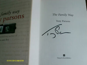 The Family Way by Tony Parsons Hardback 2004 1st Signed - <span itemprop=availableAtOrFrom>Bexhill On Sea, United Kingdom</span> - The Family Way by Tony Parsons Hardback 2004 1st Signed - Bexhill On Sea, United Kingdom