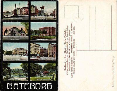 Cpa Ak Gothenburg Souvenir Sweden 441629 Ebay
