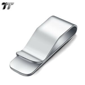 T-amp-T-316L-Stainless-Steel-Money-Clip-Silver-MC12S