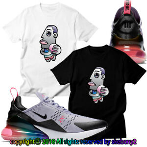 hot sale online 53530 88c8a Image is loading NEW-CUSTOM-T-SHIRT-matching-Nike-Air-Max-