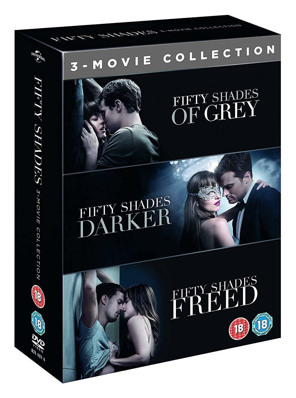Fifty Shades Of Grey Dvd Box Set
