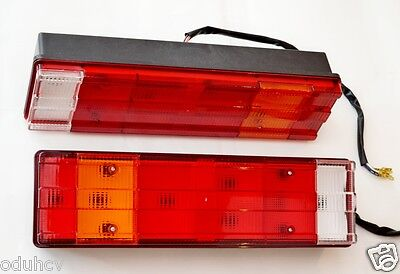 Pair x2 Rear Tail Truck Light for Mercedes Atego Actros Axor Econic 12/24V L&R