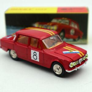 Atlas-Dinky-Toys-1401-ALFA-ROMEO-1600-TI-Rally-8-1-43-Diecast-Models
