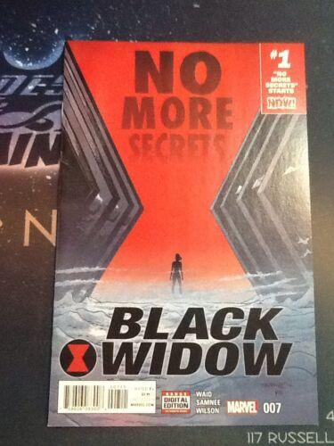CB5338 Black Widow #7 2017 Marvel Comics VF//NM