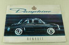 RENAULT Dauphine brochure Prospekt 20 Seiten (N618)