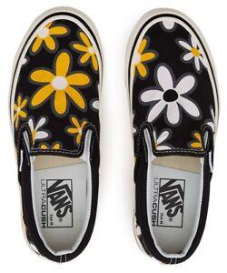 61cc14640b6 VANS 'Flowers' Anaheim Factory Classic Slip-On 98 DX Sneaker Shoe ...